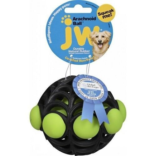 JW ARACHNOID BALL - MEDIUM Dog Toy