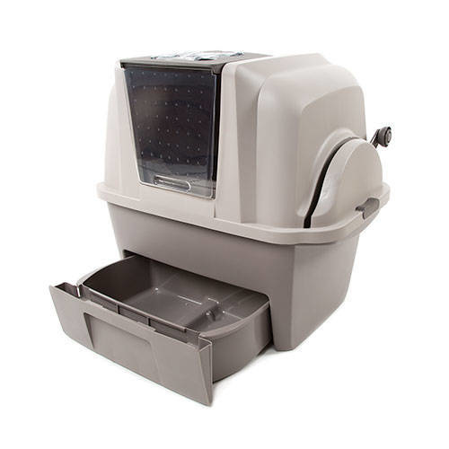 Smartsift Enclosed Semi Automatic Cat Litter Sifter