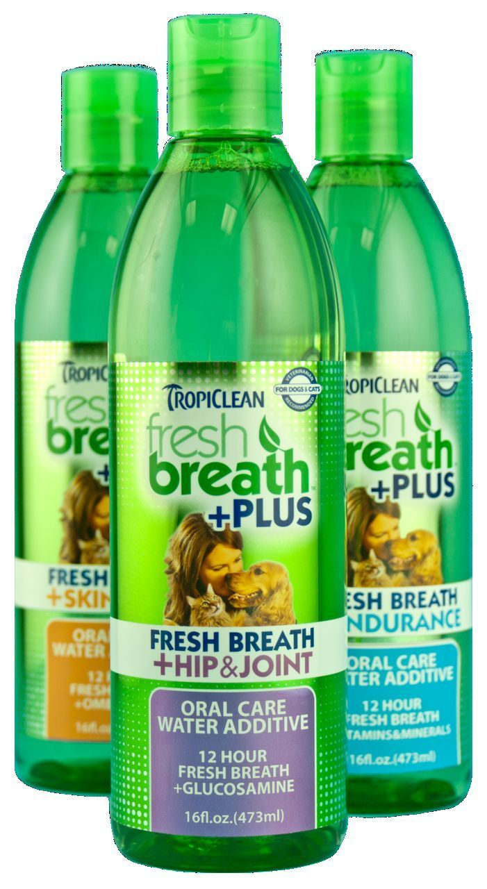 Tropiclean Fresh Breath Plus Hip Amp Joint Oral Care Water
