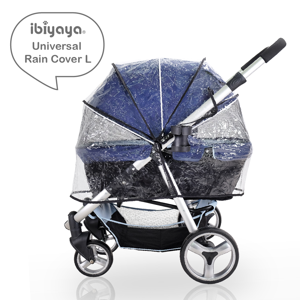 Ibiyaya Universal Raincover for Cleo, Monarch, Gentle Giant Strollers image 0