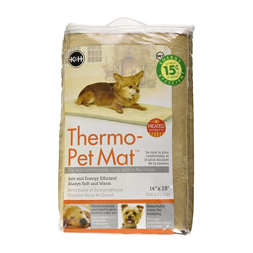 K&H Thermo Dog Low-Voltage Heated Pet Mat in Sage Green image 0
