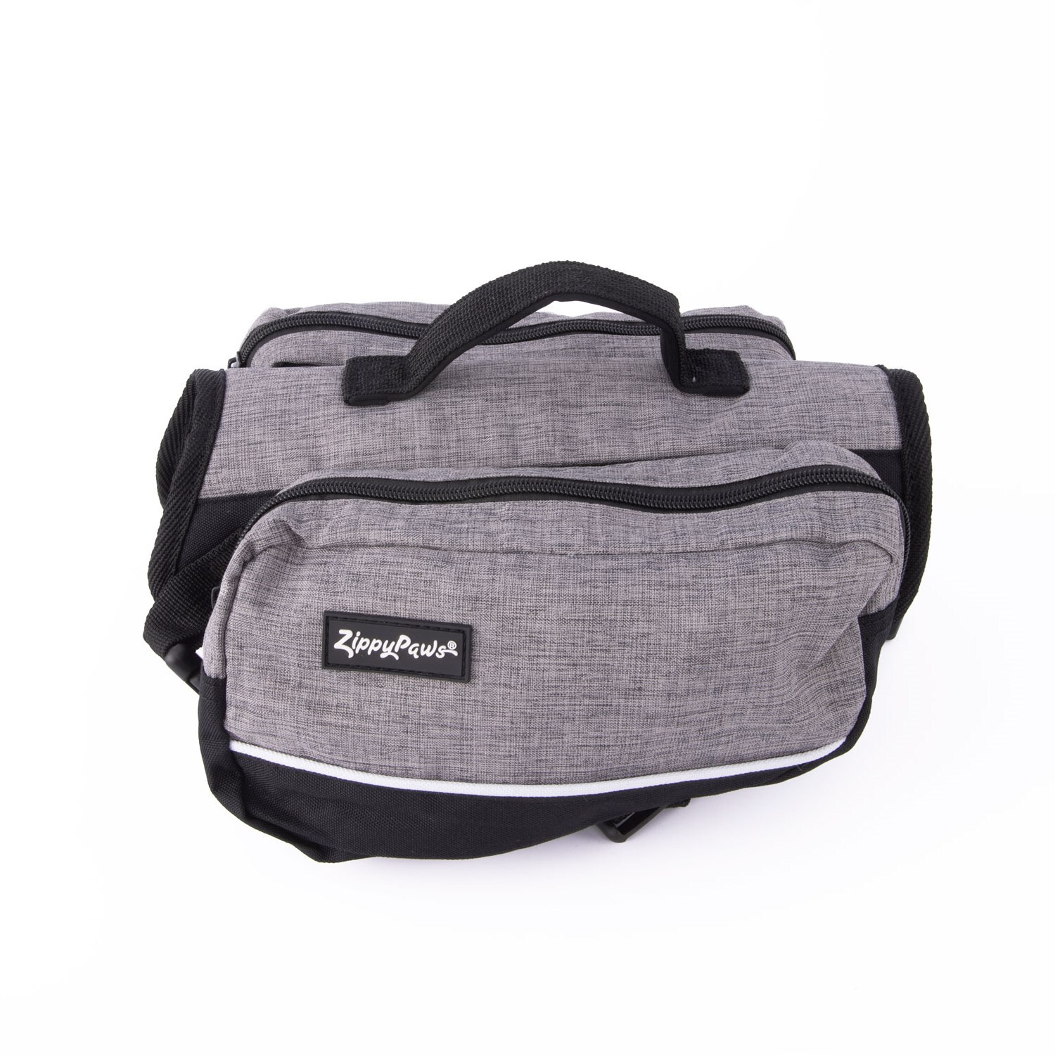 Zippy Paws Dog Backpack in Graphite Grey image 0