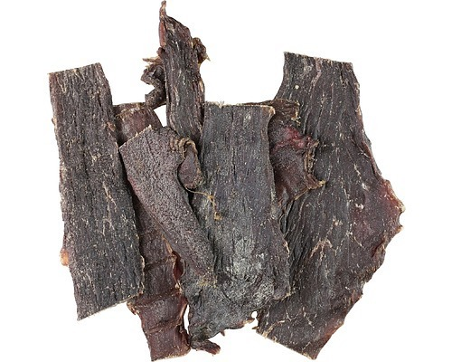 Black Dog Naturally Dried Australian Roo Jerky Dog Treats - 80g/600g image 0