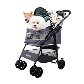Ibiyaya Cloud 9 Pet Stroller for Cats & Dogs up to 20kg - Mint Green image 9