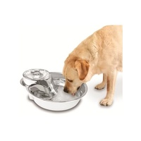 Pioneer Big Max Stainless Steel Pet Drinking Fountain 3.6 litres image 0