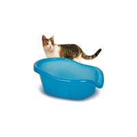 Smartcat The Ultimate Cat Litter Box - Transparent Blue image 0