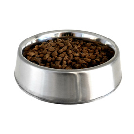 Ant-Free Stainless Steel Pet Food Bowl image 0