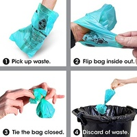 Bags on Board Large Waste Pick up Bags - Ocean Breeze Scented - 10rolls/140 Bags image 0