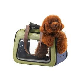 Ibiyaya Portico Deluxe Fabricr Pet Carrier Cat & Dog Transporter image 0