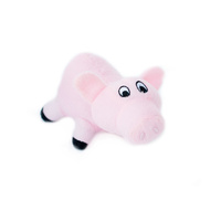 Zippy Paws Interactive Burrow Dog Toy - Pig Pen with 3 Squeaky Pigs image 0
