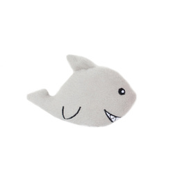 Zippy Paws Interactive Burrow Dog Toy - 3 Squeaker Sharks in a Ship image 0