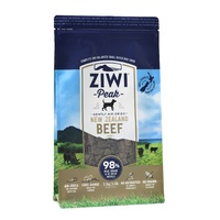 Ziwi Peak Air Dried Dog Food 2.5kg Pouch - Free Range Beef image 0