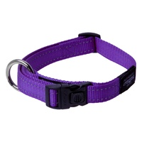 Rogz Utility Side-Release Collar with Reflective Stitching - Purple image 0