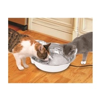 Pioneer Big Max Stainless Steel Pet Drinking Fountain 3.6 litres image 1