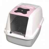 "Catit ""Clean"" Covered & Lockable Cat Litter Pan with Removable Cover image 1"