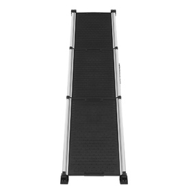 Deluxe Aluminium Retractable Lightweight Pet Ramp for pets up to 120kg - Extends to 160cm image 1