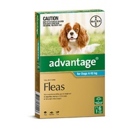 Advantage Spot-On Flea Control Treatment for Dogs 6-Pack - Kills Fleas Fast - All Sizes Available image 1