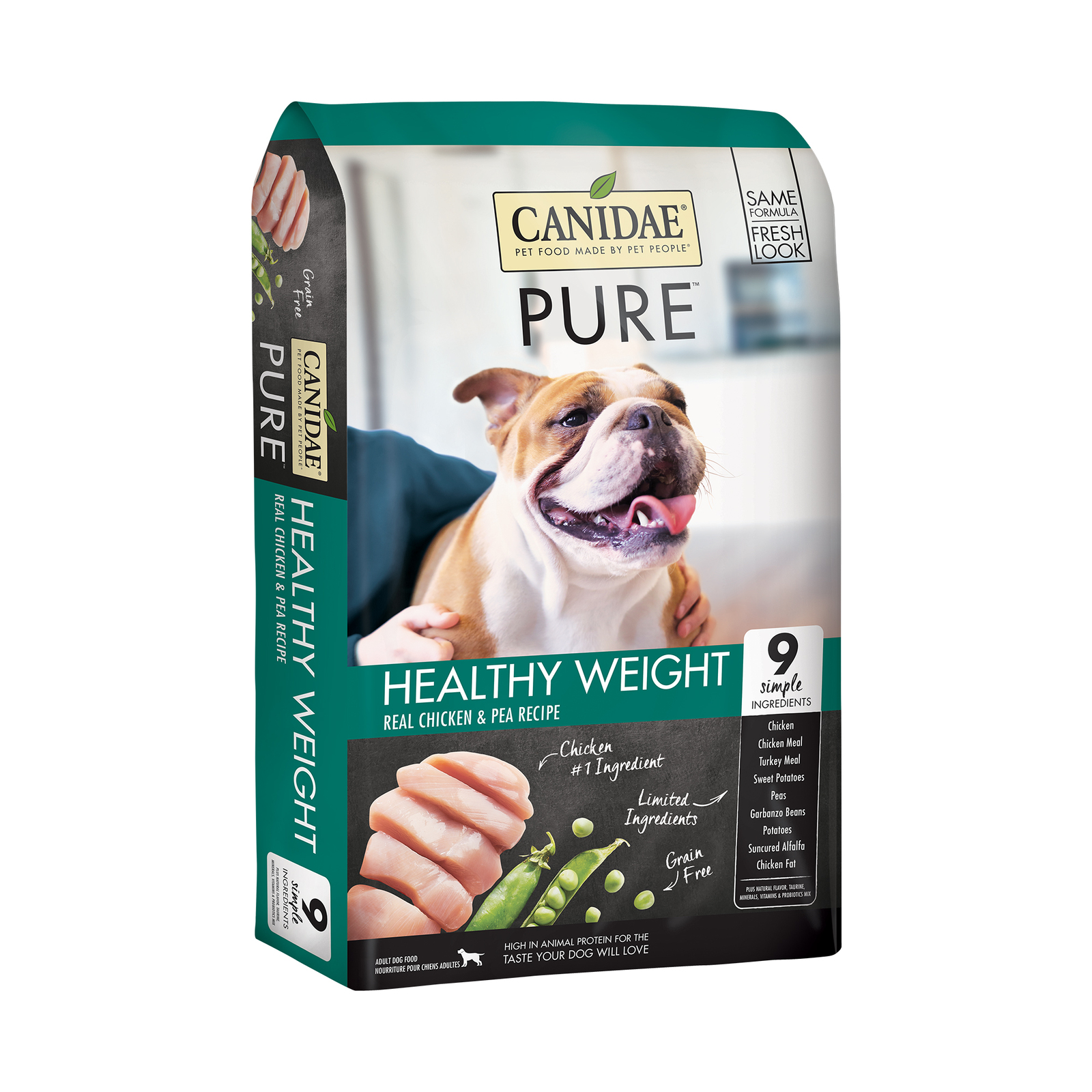 CANIDAE PURE Resolve Weight Management Formula with Fresh Chicken Dry Dog Food 5.4kg image 2