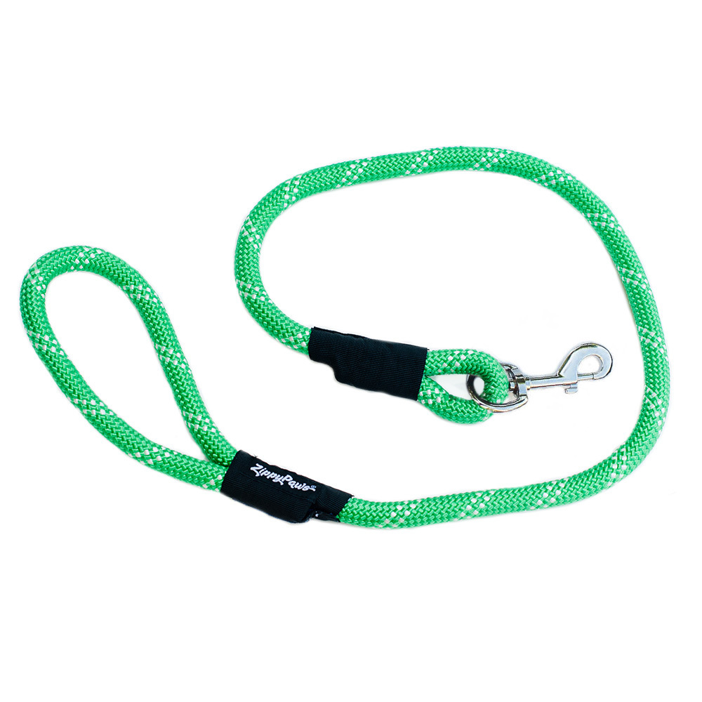 Zippy Paws Adventure Climbers Tough Rope Dog Leash - 2 lengths! image 2