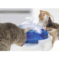 Catit Feeding & Drinking Station Combination Food Bowl & Water Fountain for Pets image 2