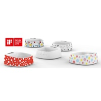 Petkit Smart Digital Pet Antibacterial Bowl with Scale - Red Polka Dot image 2