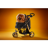 "Ibiyaya ""Monarch"" Premium Pet Jogger Stroller - Luxury Gold image 2"