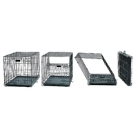 "Midwest ""Contour"" Double Door Dog Crate with Divider image 2"