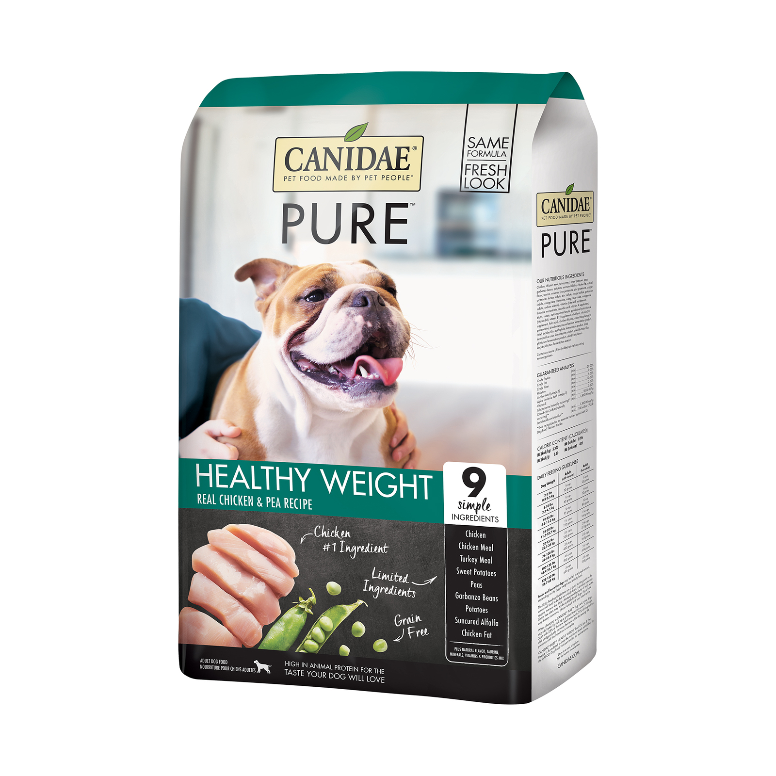 CANIDAE PURE Resolve Weight Management Formula with Fresh Chicken Dry Dog Food 10.8kg image 3
