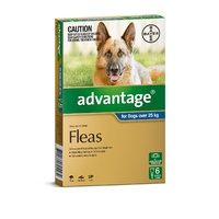 Advantage Spot-On Flea Control Treatment for Dogs 6-Pack - Kills Fleas Fast - All Sizes Available image 3