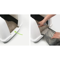 "Catit ""Clean"" Covered & Lockable Cat Litter Pan with Removable Cover image 4"