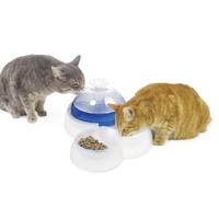 Catit Feeding & Drinking Station Combination Food Bowl & Water Fountain for Pets image 4