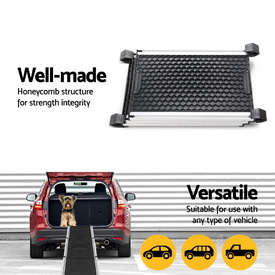 Deluxe Aluminium Retractable Lightweight Pet Ramp for pets up to 120kg - Extends to 160cm image 4