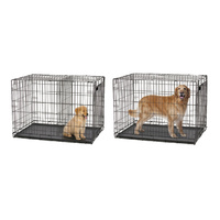 "Midwest ""Contour"" Double Door Dog Crate with Divider image 4"