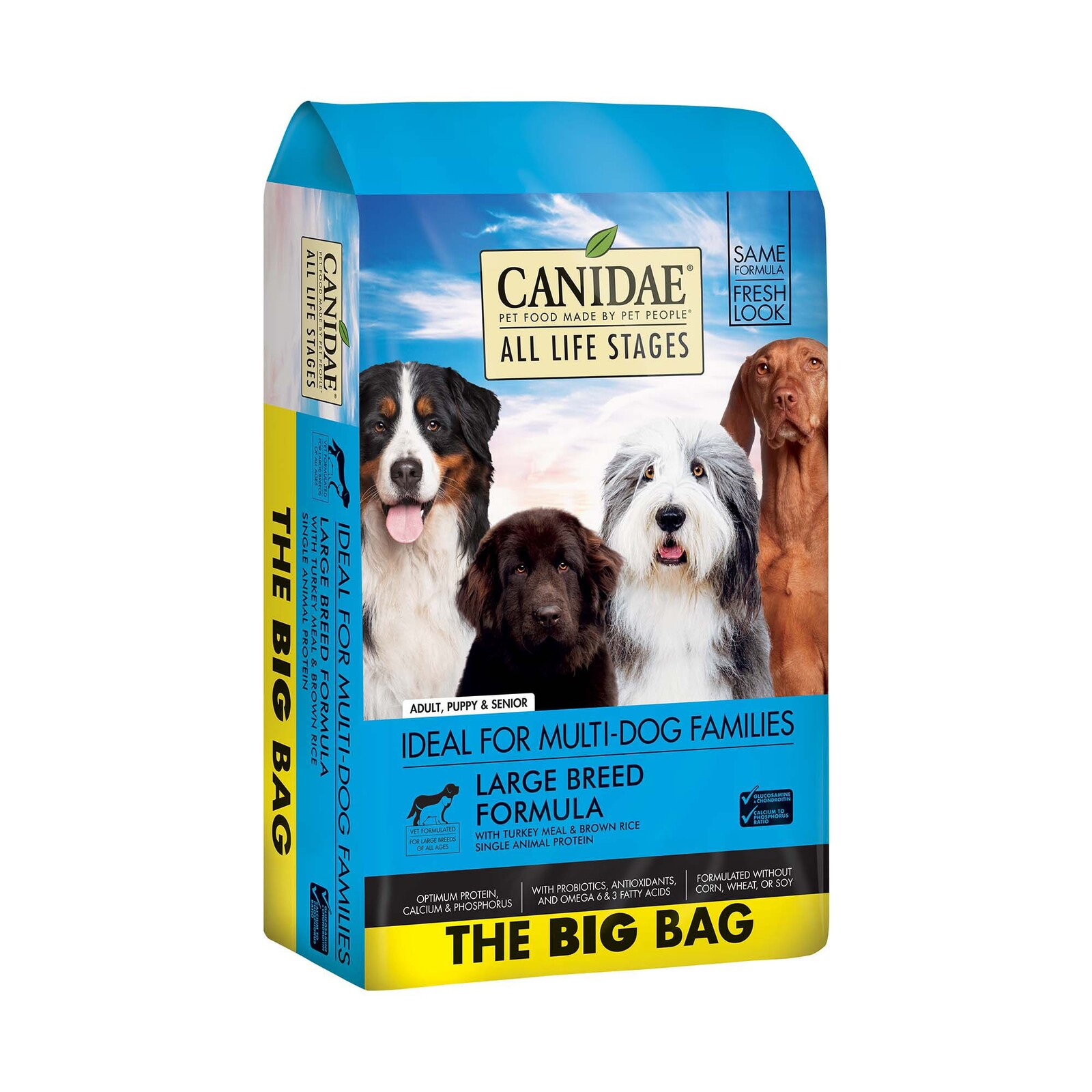 CANIDAE All Life Stages Large Breed  Formula with Turkey Meal & Brown Rice Dry Dog Food 20kg image 5