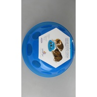 Smartcat Tiger Diner Interactive Slow Feeder Cat Bowl - Transparent Blue Plastic image 5