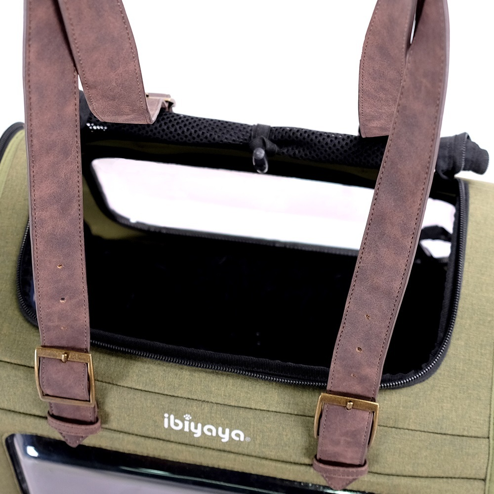 Ibiyaya Portico Deluxe Fabricr Pet Carrier Cat & Dog Transporter image 6