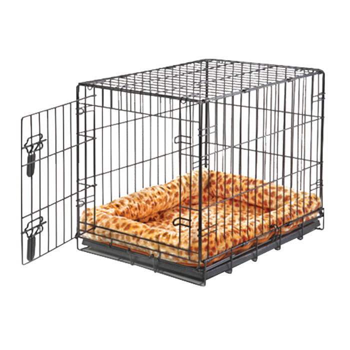 "Midwest ""Contour"" Double Door Dog Crate with Divider image 7"