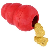 KONG Classic Red Stuffable Non-Toxic Fetch Interactive Dog Toy image 7
