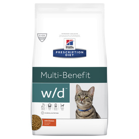 Hills Prescription Diet w/d Digestive/Weight Management Dry Cat Food 1.5kg