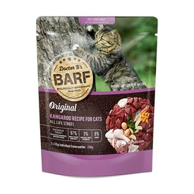 Doctor B's Barf Raw Cat Food - Kangaroo Twin Pack - Available Frozen in Store