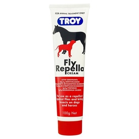 Troy Fly Repella Cream for Dogs and Horses 100g