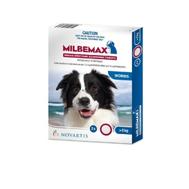 Milbemax All-Wormer for Dogs 5-25kg