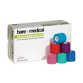 Bare + Medical Cohesive Self-Adherant Bandage 7.5cm X 4.7cm