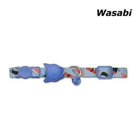 Zee Dog Cat Collar with Breakaway Safety Clip - Wasabi Sushi