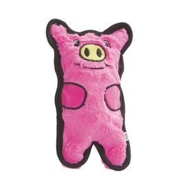 Invincibles Mini Puncture Proof Squeaker Pig - No Stuffing!