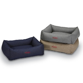 Snooza Bumper Pet Bed in Pewter, Denim or Tweed