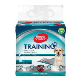 Simple Solution Super Absorbent Odour Neutralising Dog Training Pads - 30 Pads