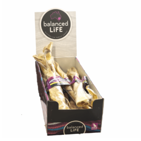Balanced Life Australian Natural Grain Free Kangaroo Tail Twist Dog Treat - 30cm - Box of 12