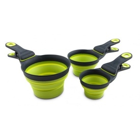 Popware Klipscoop Food scoop and Clip [Size: 1 cup] [Colour: Green]