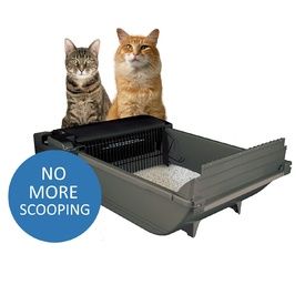 SmartScoop Intelligent Automatic No-Scoop Cat Litter System with BlueTooth